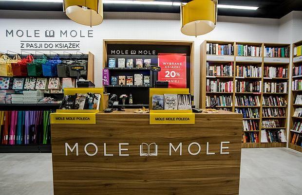 Nowa sieć księgarni Mole Mole