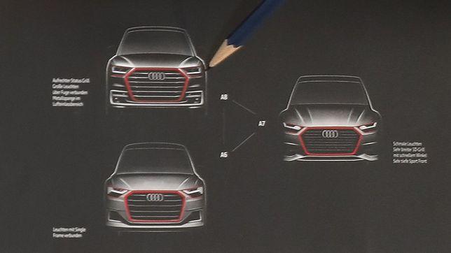 Tak będą wyglądały Audi A6, A7 i A8