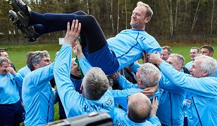 Mecz Tuska z kolegami. 60. urodziny przewodniczącego Rady Europejskiej
