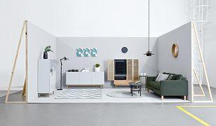 Jasne kolory i naturalne materiały to charakterystyczne elementy stylu skandynawskiego