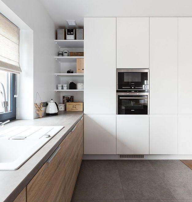 Modne meble kuchenne  Kuchnia otwarta na trendy Modne szafki kuchenne 2015