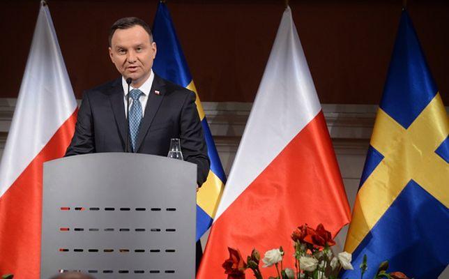 Andrzej Duda z oficjalną wizytą w Szwecji