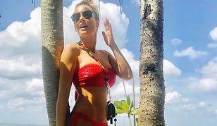 Małgorzata Rozenek-Majdan znów w kusi w bikini