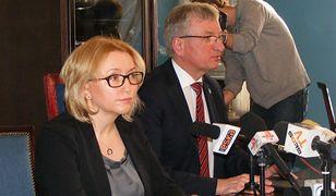 Agnieszka Pachciarz i Jacek Jaśkowiak.