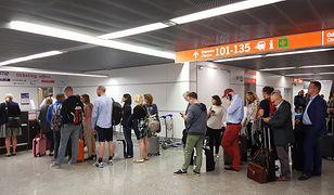Duże opóźnienia na niemieckich lotniskach