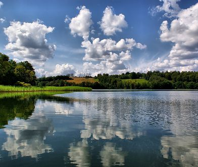 Jedno z kaszubskich jezior