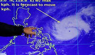 Potężny Tajfun uderzył w Filipiny. Tysiące ewakuowanych ludzi