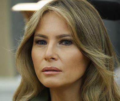 Melania Trump w niecodziennej stylizacji. Tym razem postawiła na styl militarny
