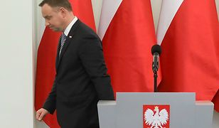 Prezydent Andrzej Duda zaprezentował projekty ustaw