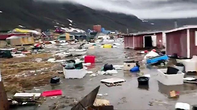 Tsunami uderzyło w Grenlandię. Są zaginieni