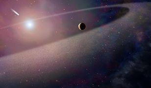 Wstrząsające odkrycie - gwiazda rozszarpała swój układ planetarny