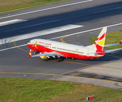 Lot miał się odbyć liniami Lucky Air