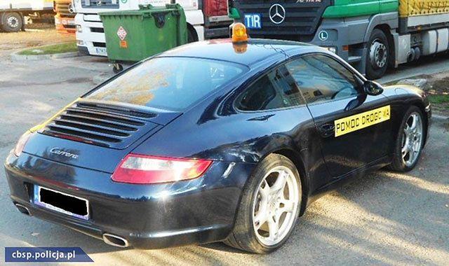 Sprowadzali Porsche jako pomoc drogową. Rozbita grupa przestępcza