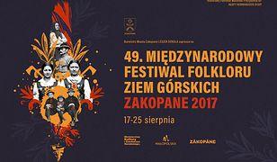 Plakat Międzynarodowego Festiwalu Folkloru Ziem Górskich