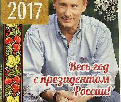 Cały rok z Władimirem Putinem. Nowy kalendarz już robi furorę