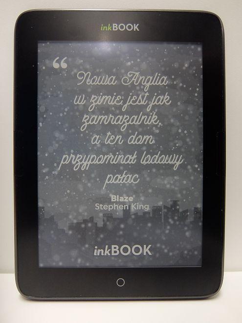 inkBOOK Obsidian to polski czytnik ebooków działający na systemie Android, można go mieć za złotówkę przy wykupieniu abonamentu księgarni Legimi.