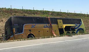Polski autokar rozbił się w Serbii. Ranne dzieci, jedna osoba nie żyje