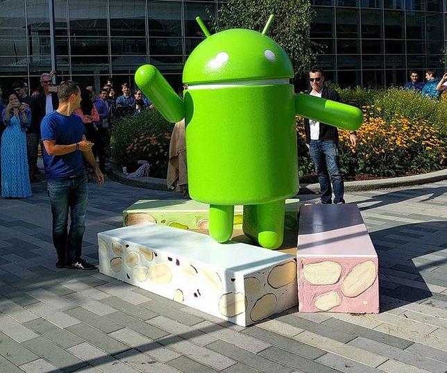 aktualizacja android nougat