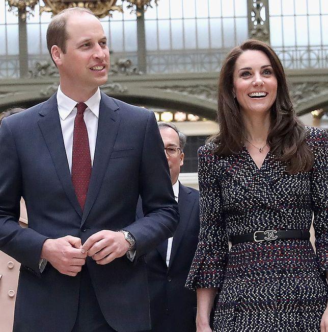 Kate i William w Paryżu