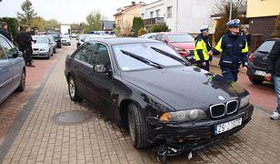 Samochód zatrzymanego 22-latka.