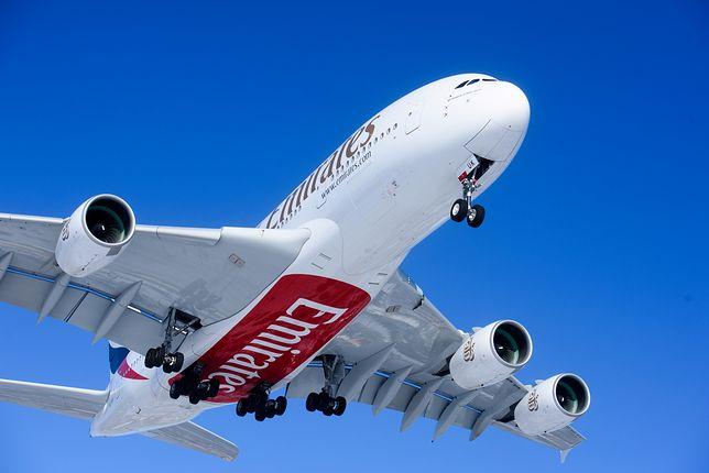 10 lutego Airbus A380 wylądował w Warszawie na lotnisku im. F. Chopina