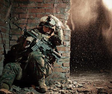 Żołnierz na wojnie