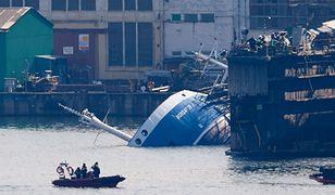 Akcja ratunkowa w Gdyni. Tonął statek