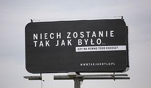 """Billboardy kampanii """"Sprawiedliwe sądy"""""""