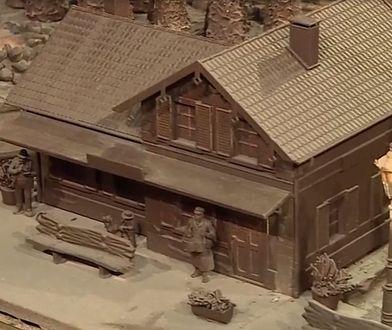 Jedyna w swoim rodzaju czekoladowa stacja kolejowa