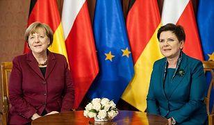 Angela Merkel z wizytą u Beaty Szydło