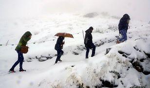 Do polskich gór zawitała zima. Jest biało, śnieżnie i pięknie!