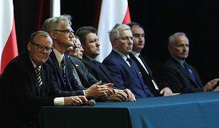 Konferencja podkomisji smoleńskiej - na pierwszym planie Wacław Berczyński