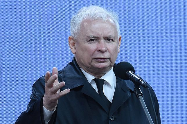 Jarosław Kaczyński na obchodach katastrofy smoleńskiej