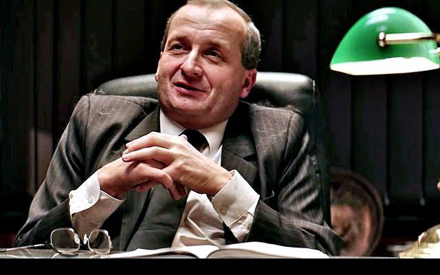 """Robert Górski w serialu """"Ucho prezesa"""""""