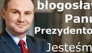 Polacy przesyłają życzenia Andrzejowi Dudzie