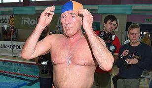 Karol Strasburger popisał się formą na basenie