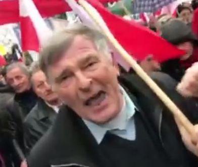 Poseł PO poszedł na manifestację poparcia dla PiS. Oto, co go spotkało