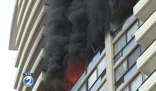 Pożar w wieżowcu w Honolulu. Zginęły co najmniej trzy osoby