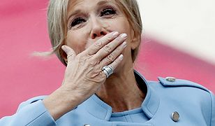 Brigitte Macron na zaprzysiężeniu prezydenta Francji. Wybrała błękit