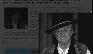 Bolesław Karpiel-Bułecka: zmarł wybitny artysta i ojciec wokalisty Zakopower