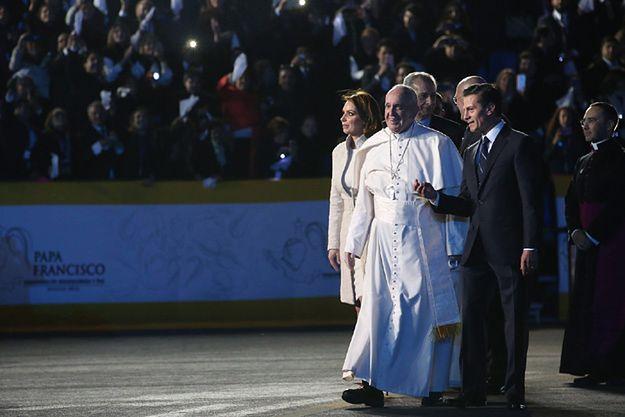 Papież Franciszek rozpoczął wizytę w Meksyku