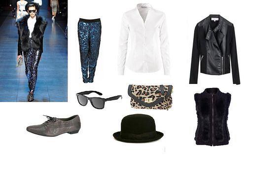 Zestawy z wybiegu: Dolce & Gabbana