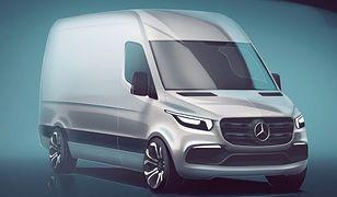 Szkic nowego Mercedesa Sprintera