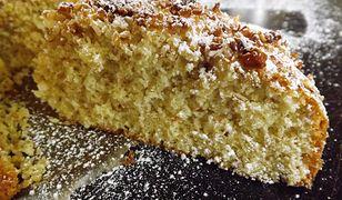 Ciasto kokosowo migdałowe. Puszyste i miękkie