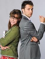 Julia Kamińska i Filip Bobek