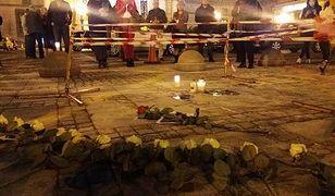 Do samopodpalenia przed Pałacem Kultury w Warszawie doszło 19 października