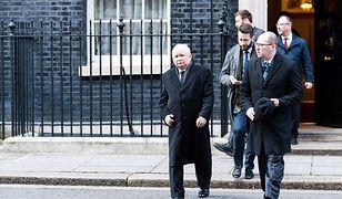 Polonia po spotkaniu z prezesem PiS: mamy obawy dotyczące Brexitu