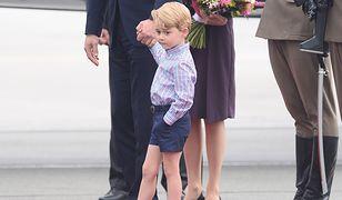 Dlaczego książę George zawsze nosi krótkie spodenki? Rozwiązanie jest bardzo proste