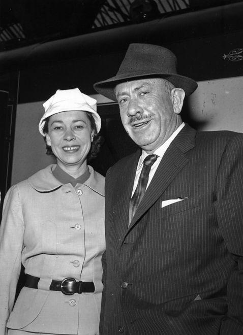 John Steinbeck z żoną Elaine
