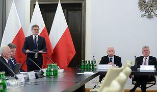 """Marszałek Sejmu Marek Kuchciński na konferencji """"Konstytucja Solidarności"""""""